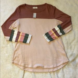 Maurices Color Block shirt *never worn*